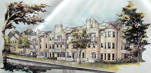 The Saxony - 4 Story Townhomes - Oak Lawn