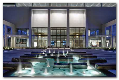 One Arts Plaza - Photograph by Charles Smith, AIA