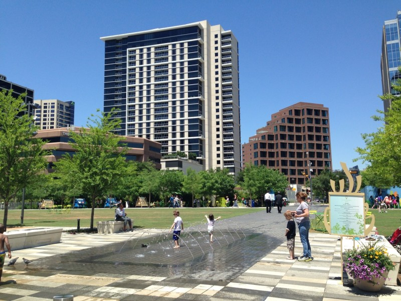 Uptown Water Bricks Condos nearby Klyde Warren Park